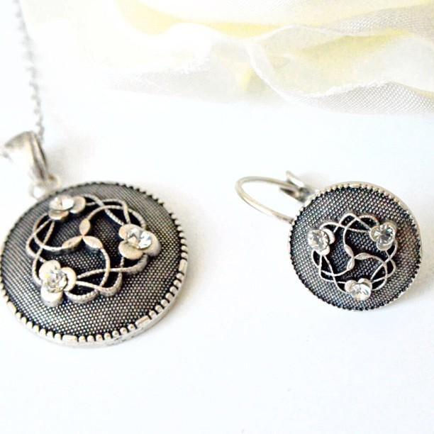 Mariage - Bridesmaids Jewelry Set