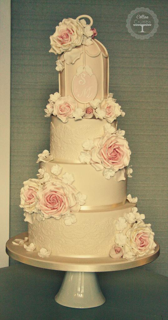 Vintage Wedding - Vintage Birdcage Cake #1968957 - Weddbook