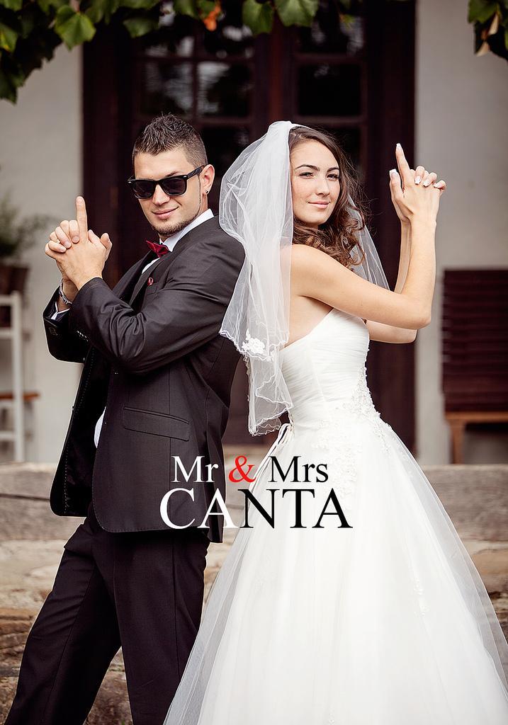 Mariage - Mr & Mrs Canta