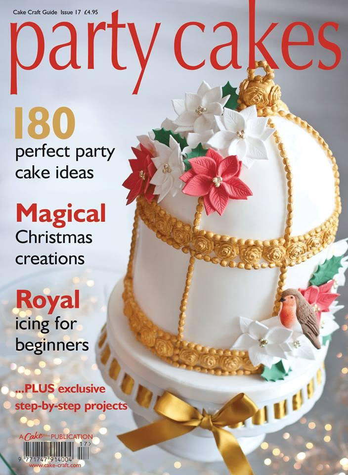 Food & Favor - Party Cakes Magazine Cover #1969355