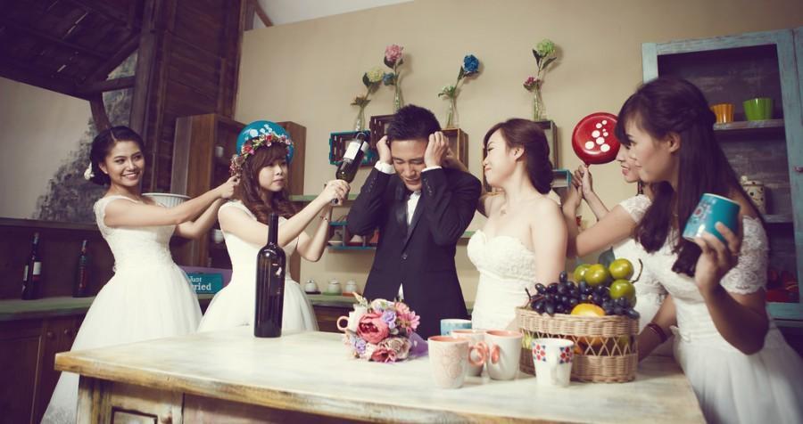 Свадьба - 1 VS 5
