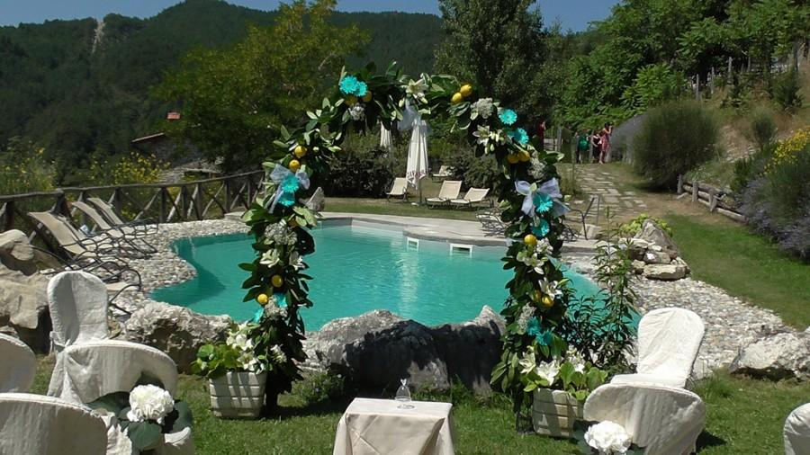 Wedding - Ceremony by the Pool