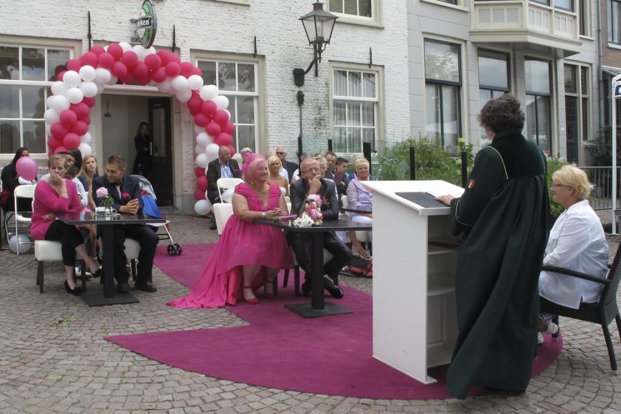 Свадьба - Open air wedding in Dordrecht