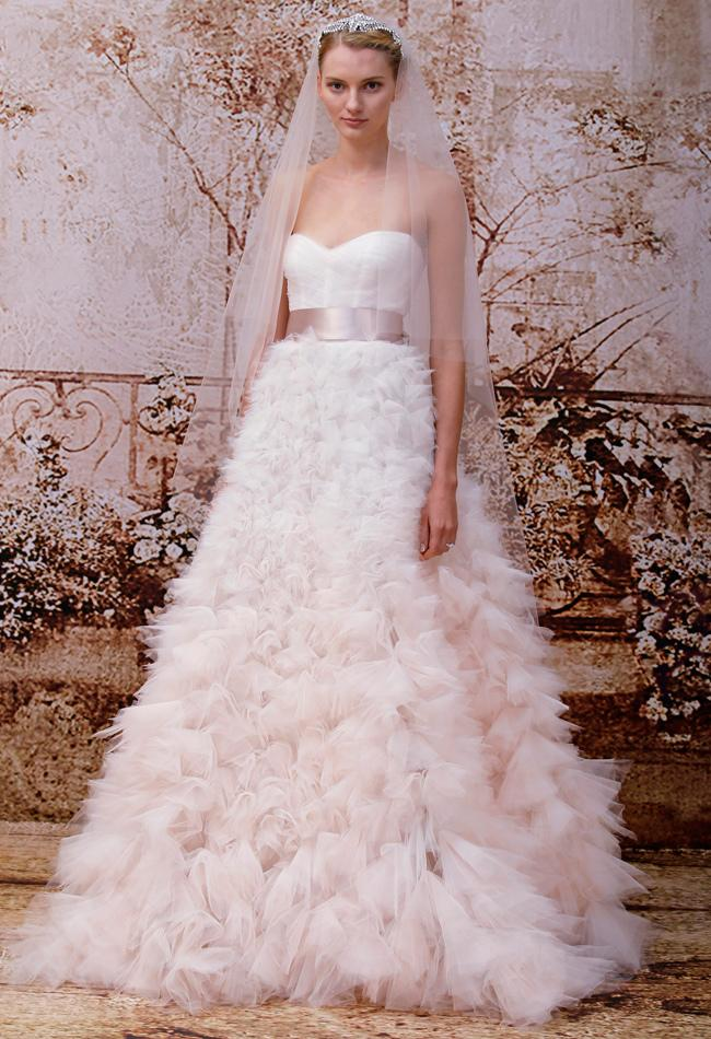 Свадьба - Monique Lhuillier Fall 2014 Collection Full of Vintage Romance