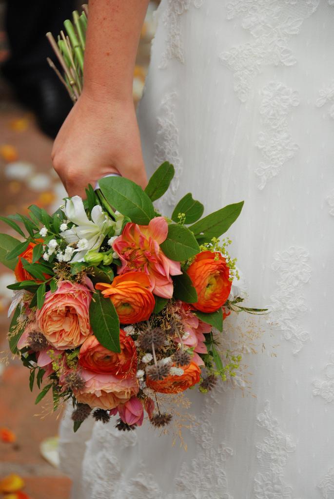 Свадьба - le bouquet de la mariée.