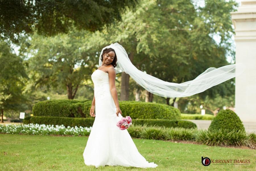 Wedding - Bride at Denny Chimes