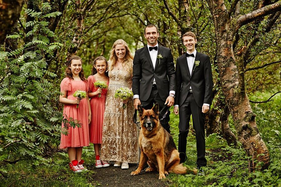 Wedding - Una & Davíð