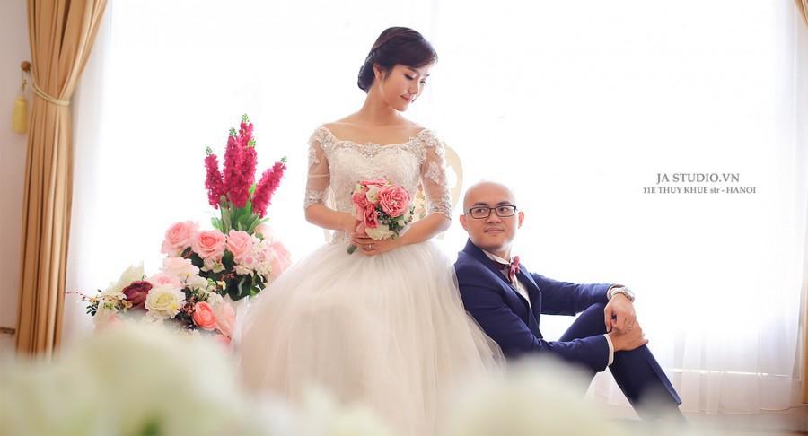 Свадьба - Ảnh cưới Hà Nội - Biệt thự hoa hồng ( JA Studio - 11E Thụy Khuê )