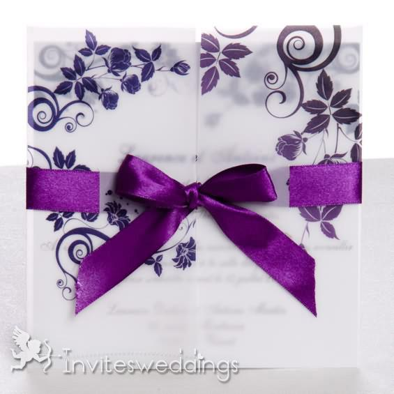 cheap wedding invitations cheap purple wedding invitations