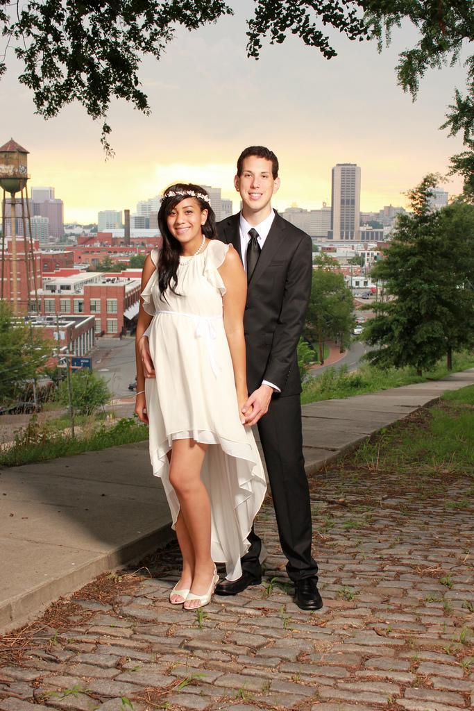 Свадьба - Josh and Natalya Reyes