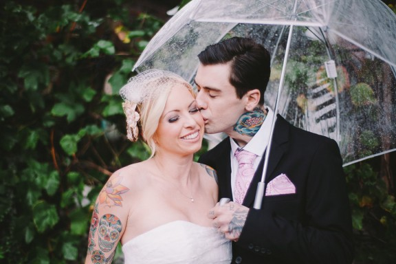 Weddbook  Others  Quirky Tattoo Artist's Wedding: Kathryn ...