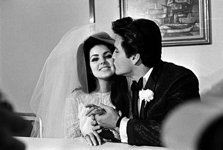 Elvis and priscilla presley wedding rings