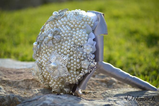زفاف - Elebrooch, ramos de novia