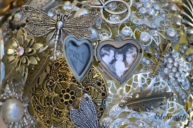 Свадьба - Elebrooch ramos de novia. Brooch bouquet. Ramo de broches