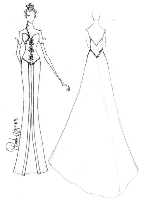 Hochzeit - Dress by PIPIDWINDAR