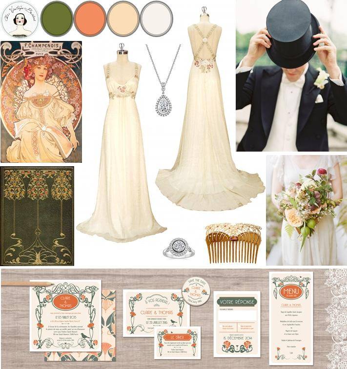Свадьба - La Belle Epoque – Inspiration for an Edwardian Wedding