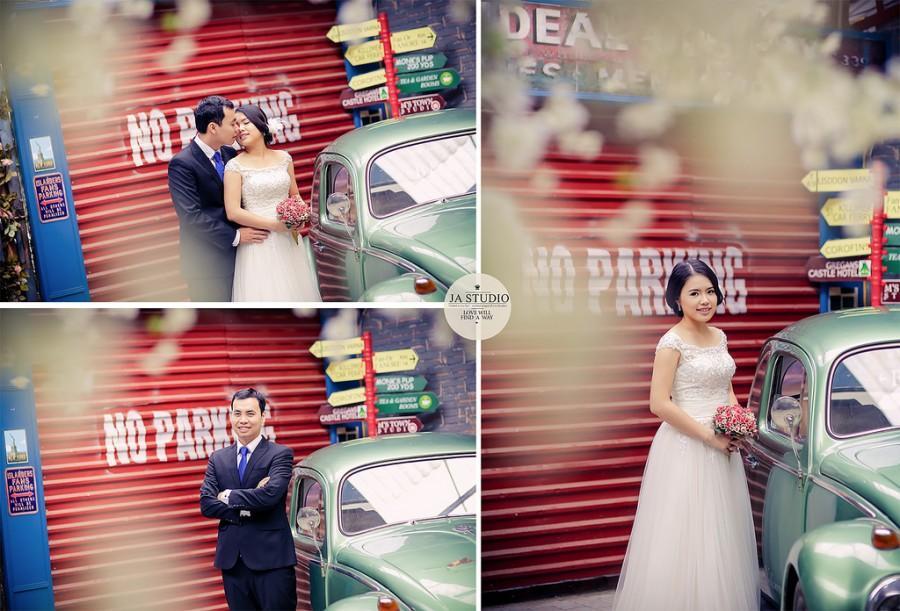 Hochzeit - Ảnh cưới đẹp Hà Nội - M's Town ( JA Studio - 11E Thụy Khuê )