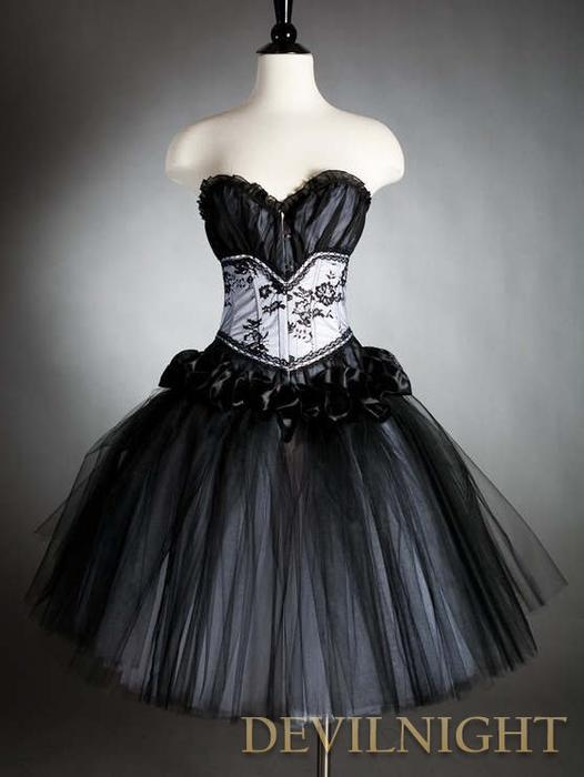 Goth Homecoming Dresses 66