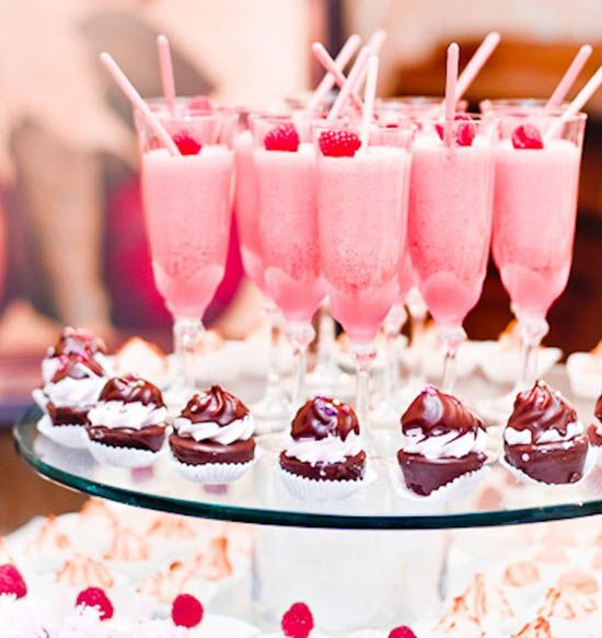 Wedding - Drinks And Desserts Ideas