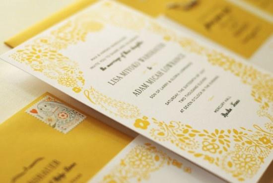 Mariage - Yellow Weddings
