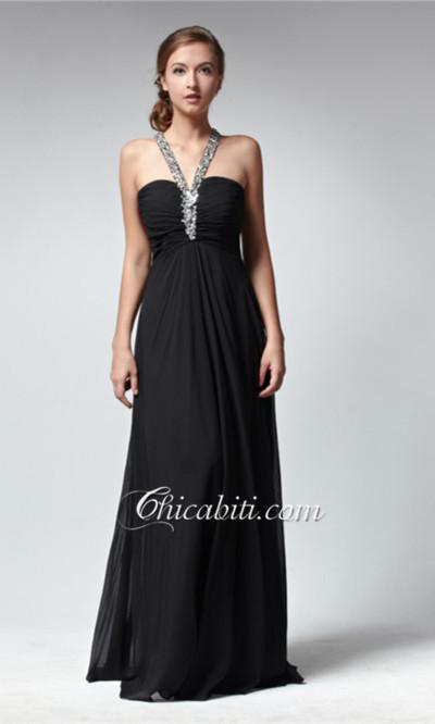 Abiti Da Sera In Chiffon.Black Wedding Black Abiti Da Sera Chiffon 1983168 Weddbook