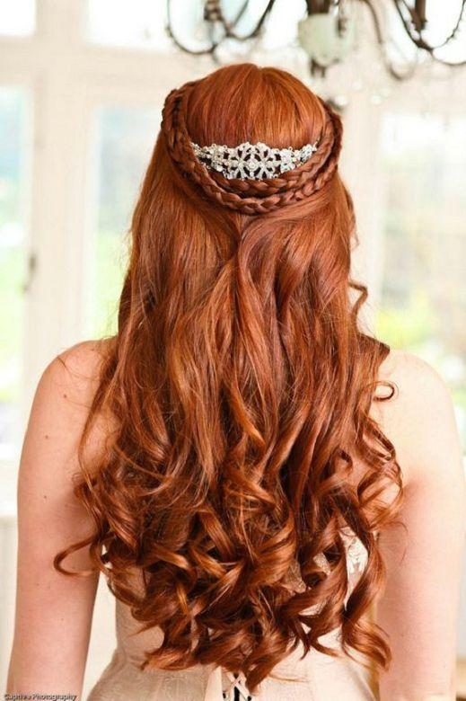 Свадьба - Wedding Hair Ideas