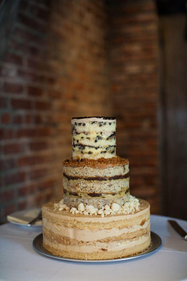 Hochzeit - Naked Cakes