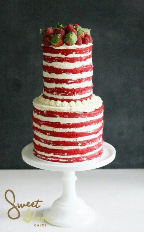 زفاف - Naked Cakes