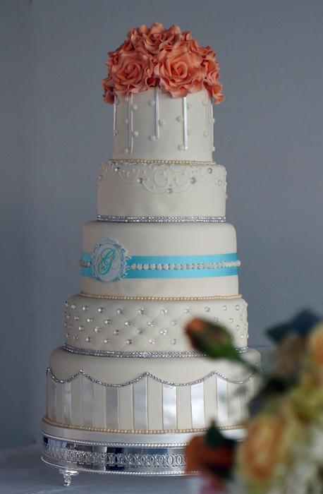 Свадьба - 5 Tier Wedding Cake