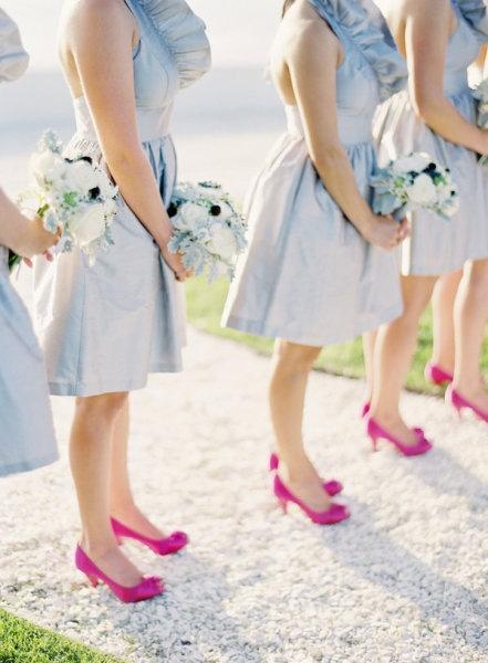 Hochzeit - Pink And Blue Weddings