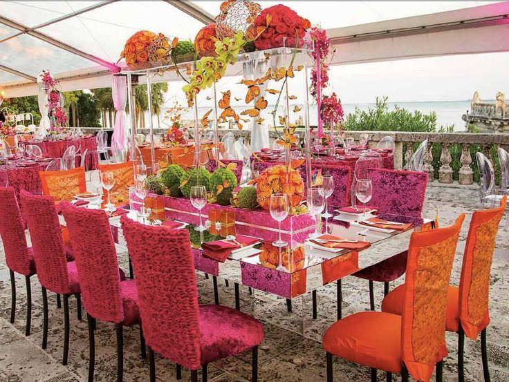 Hochzeit - Pink And Orange Weddings