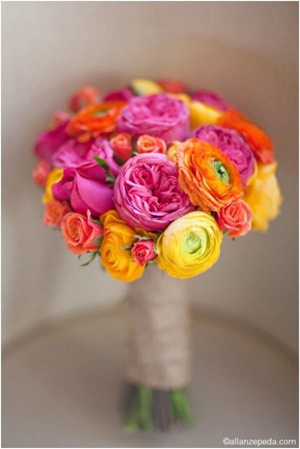 Hochzeit - Pink And Orange Weddings
