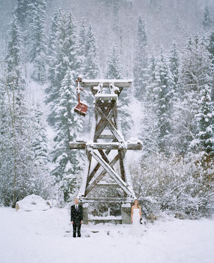 Mariage - Snow in Telluride