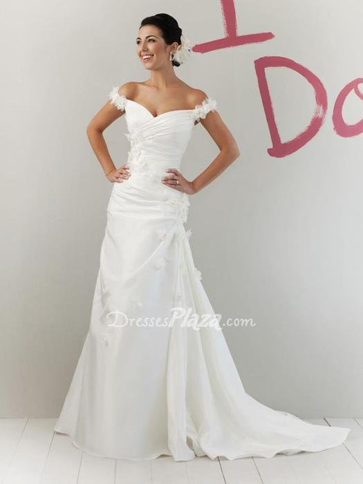 taffeta wedding dresses