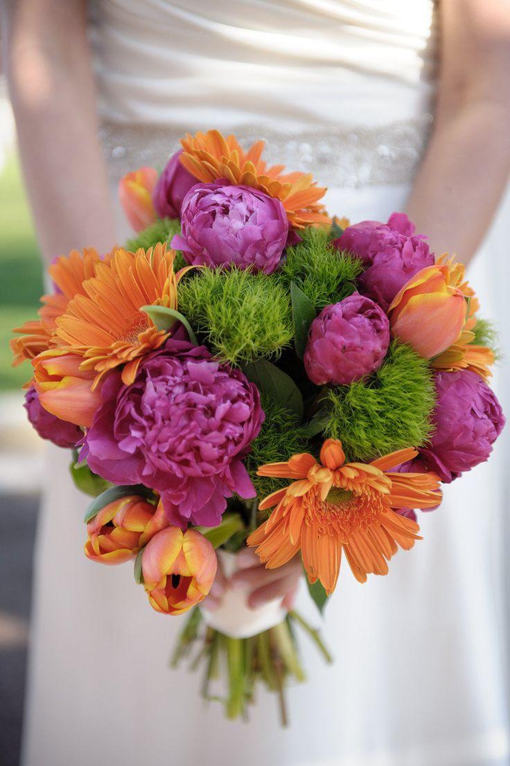 Mariage - Pink And Orange Weddings