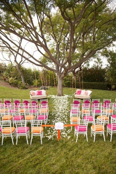 Boda - Pink And Orange Weddings