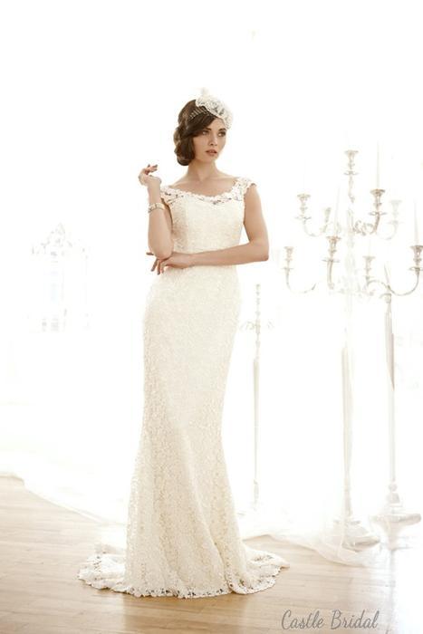 Wedding - Elegant Sheath Bateau Wedding Dress