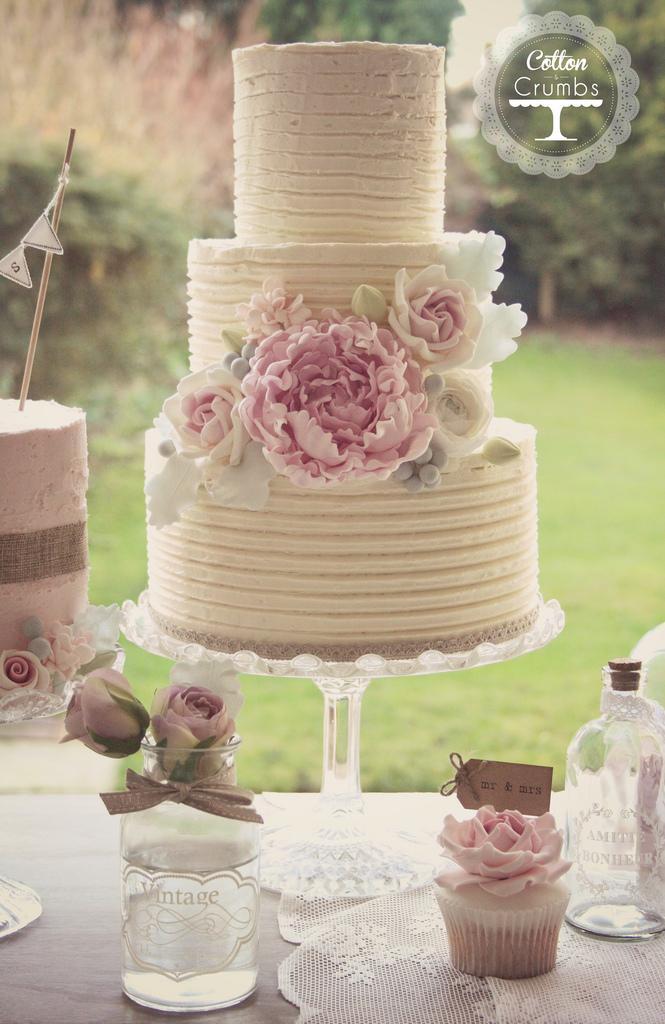 زفاف - Rustic Wedding Cake