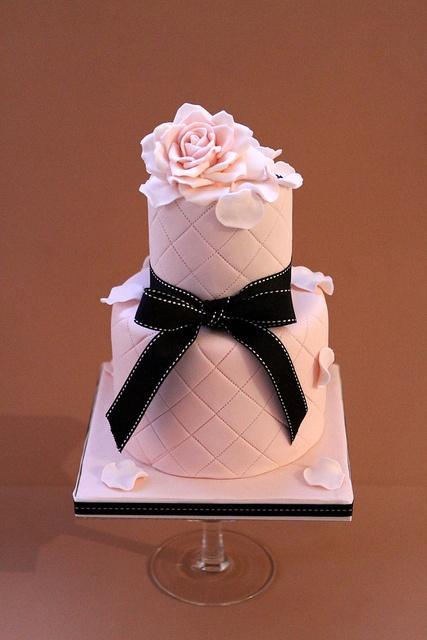 Wedding - Pink And Black Wedding