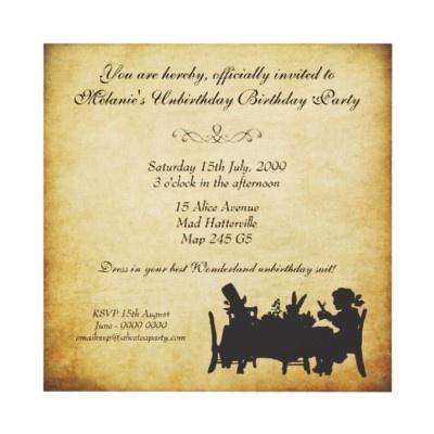 Свадьба - Themed Weddings - Alice In Wonderland