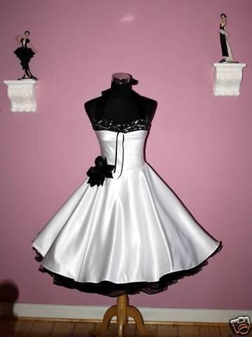 Wedding - Black Accent dress