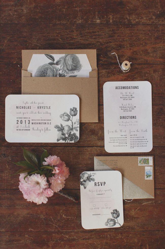 Hochzeit - Stationery Finds