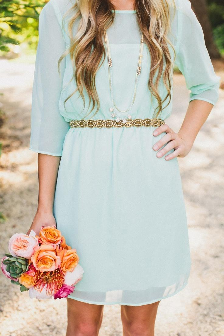Wedding - Mint Wedding Inspiration