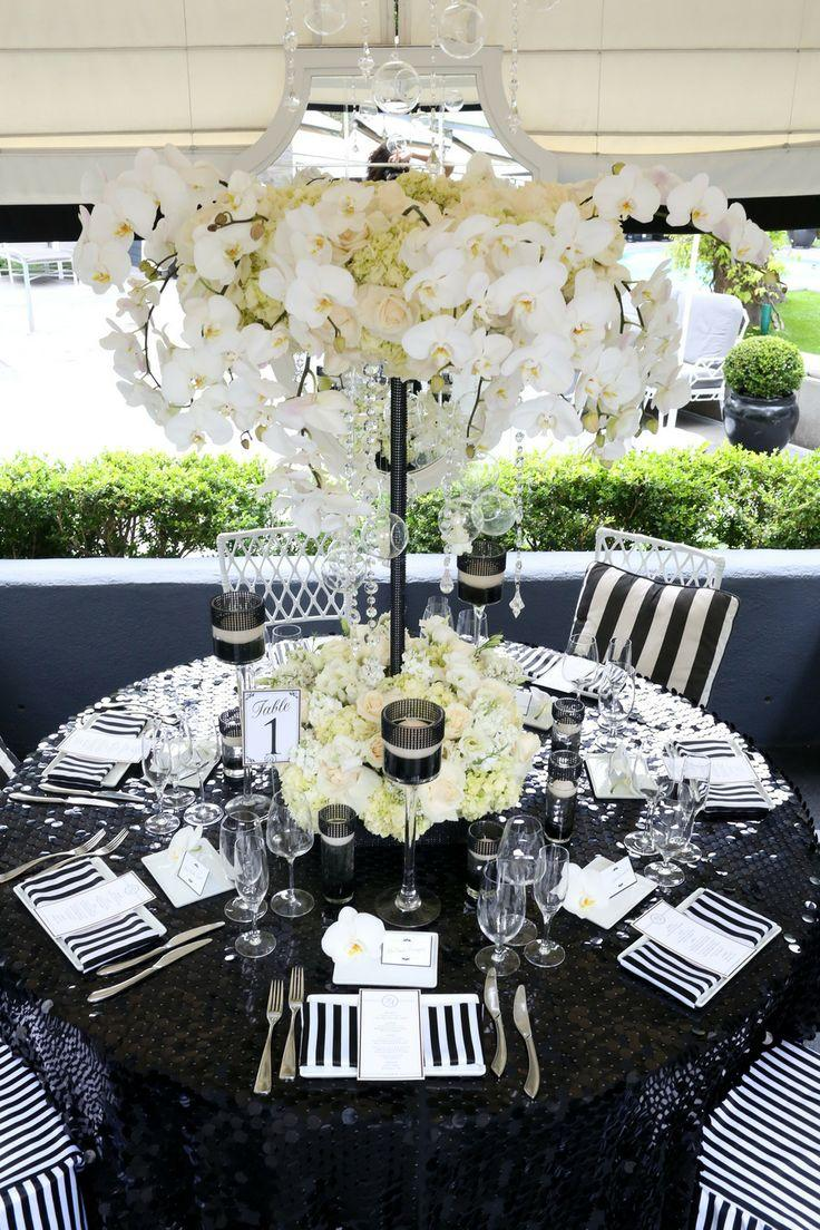 Hochzeit - Black & White Stripes