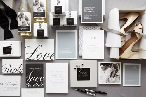 Mariage - Black And White Wedding Details & Decor