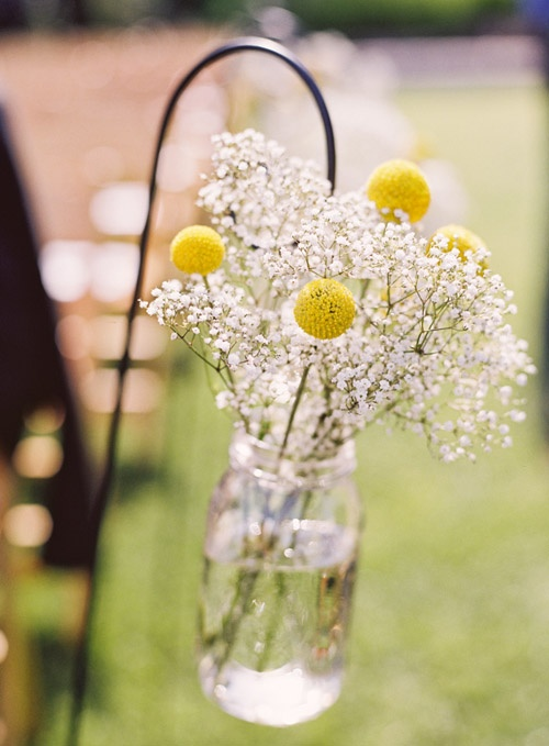 Wedding - Yellow Wedding Details & Decor