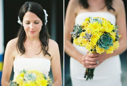 Mariage - Yellow Wedding Details & Decor