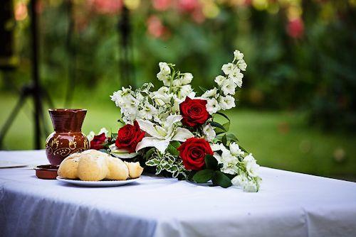 Свадьба - Red Wedding Details & Decor