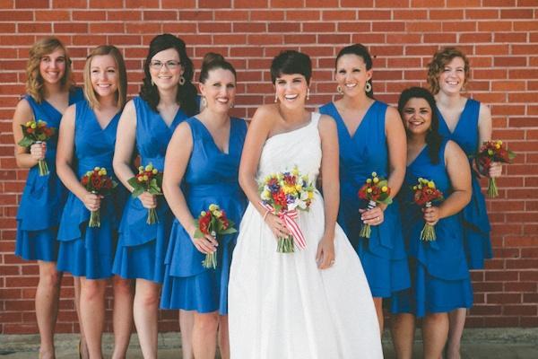 Свадьба - Blue Wedding Details & Decor