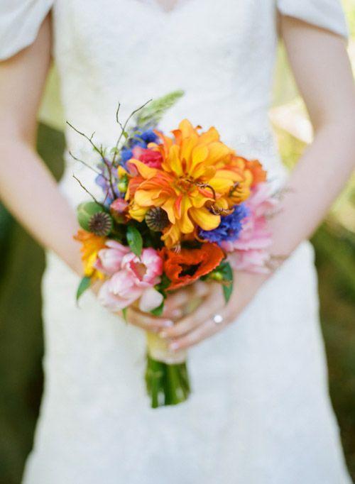 Mariage - Orange Wedding Details & Decor
